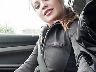 Teen Alessandra Jane Smashed In The Car