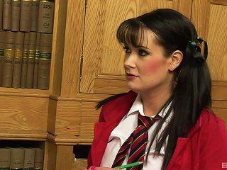 Naughty Schoolgirl Raises Her Grades By Fucking Her Professor